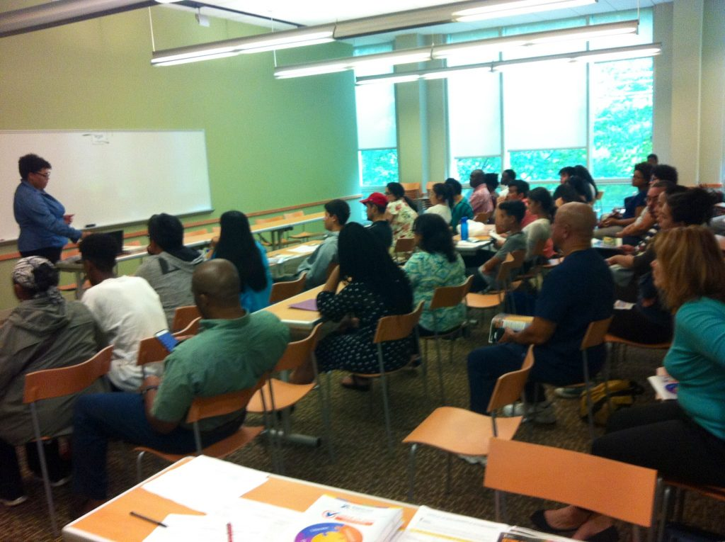 Montgomery County Youth Council has successful workshop on scholarships and community service.