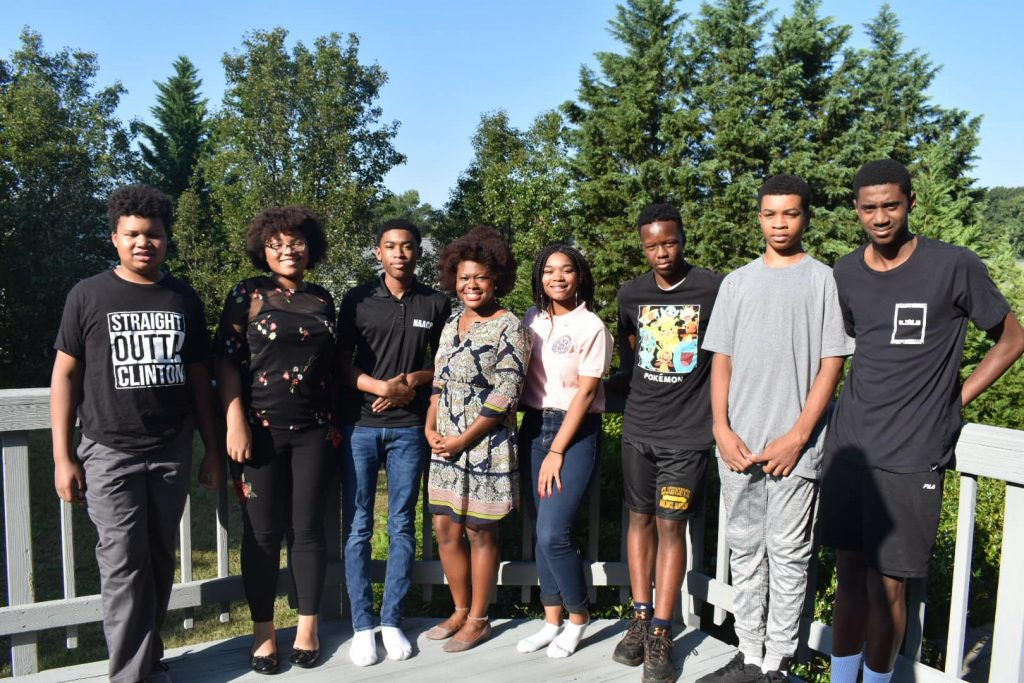 Youth Council meet with State Delegate Jheanelle Wilkins